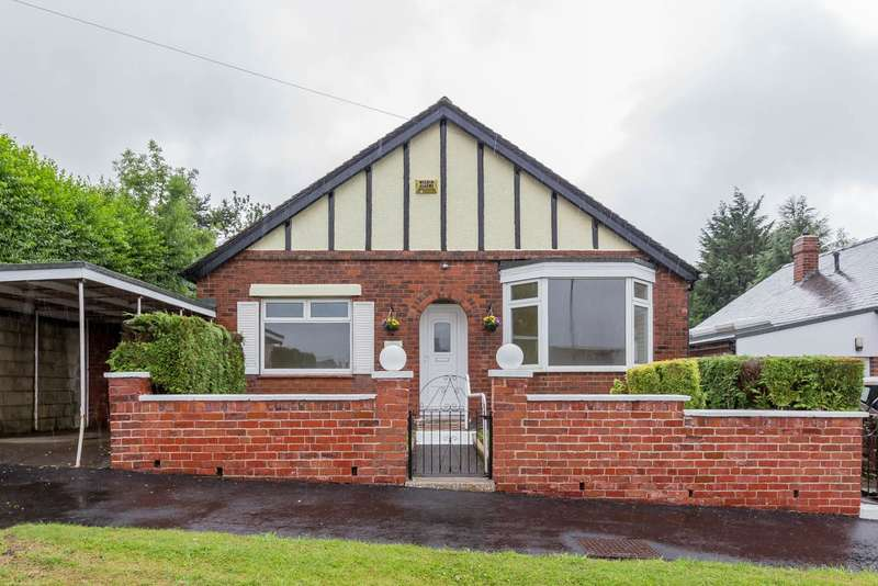 2 Bedrooms Detached Bungalow for sale in Cliffefield Road, Norton Lees, Sheffield, S8
