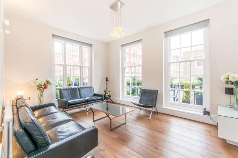 3 Bedrooms Flat for sale in Seymour Place, London, London, W1H