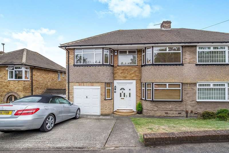 4 Bedrooms Semi Detached House for sale in Commissioners Road, Strood, Rochester, ME2
