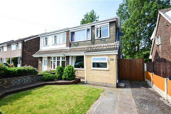 3 Bedrooms Semi Detached House for sale in Monmouth Crescent, Wigan