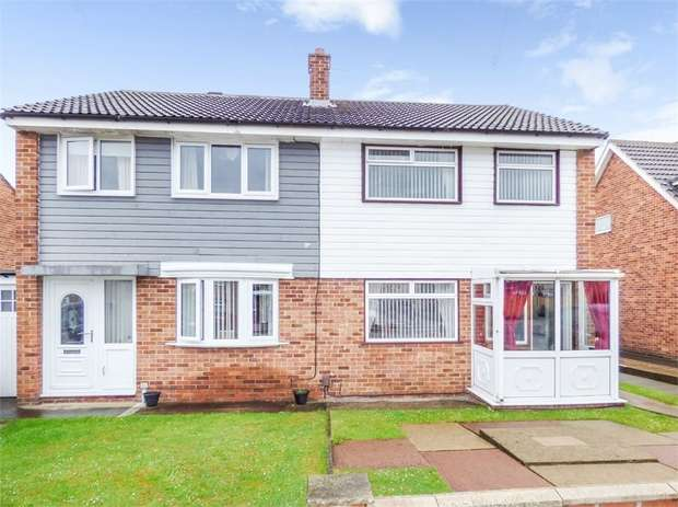3 Bedrooms Semi Detached House for sale in Trimdon Avenue, Middlesbrough, North Yorkshire