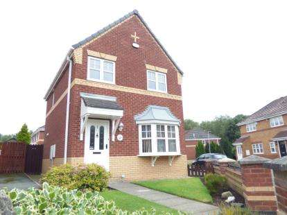 3 Bedrooms Detached House for sale in Keats Close, Widnes, Cheshire, WA8