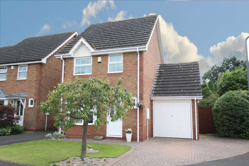 3 Bedrooms Semi Detached House for sale in Miniva Drive, Walmley, B76 2WT