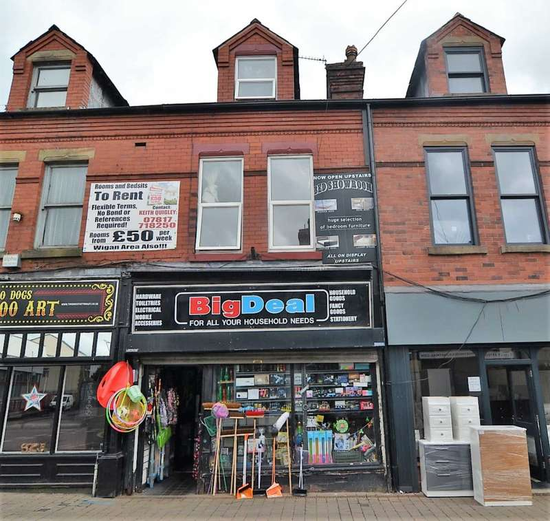 2 Bedrooms Retail Property (high Street) Commercial for sale in Bridge Street, Newton Le Willows