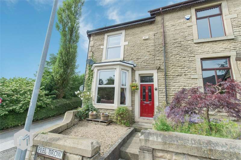 3 Bedrooms End Of Terrace House for sale in Peel Brow, Ramsbottom, Bury, Lancashire