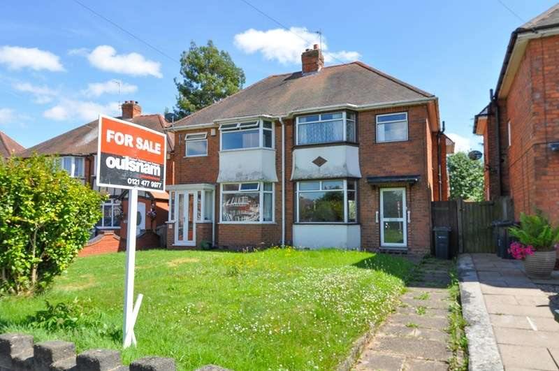 3 Bedrooms Semi Detached House for sale in Hazel Croft, Northfield, Birmingham