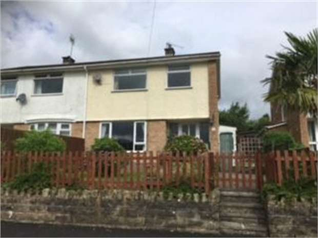 3 Bedrooms Semi Detached House for sale in Brynhyfryd Close, Little Mill, Pontypool, Monmouthshire