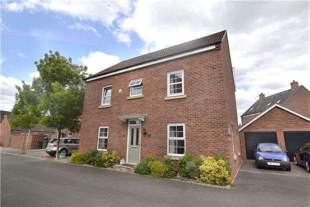 4 Bedrooms Detached House for sale in Buchan Drive Kingsway, Quedgeley, GLOUCESTER, GL2 2EA