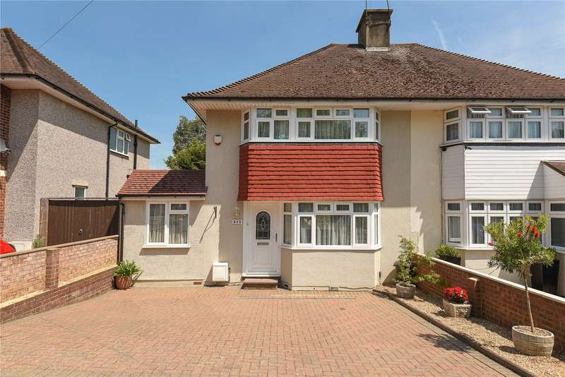 4 Bedrooms Semi Detached House for sale in Field End Road, Ruislip, Middlesex, HA4