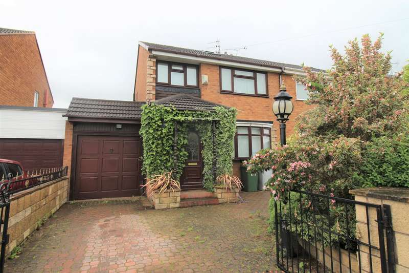 3 Bedrooms Semi Detached House for sale in Ridgewood Drive, Pensby, Wirral, CH61 8SE