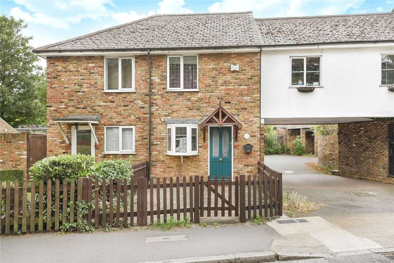 2 Bedrooms Semi Detached House for sale in Bryden Cottages, High Street, Cowley, Uxbridge, UB8