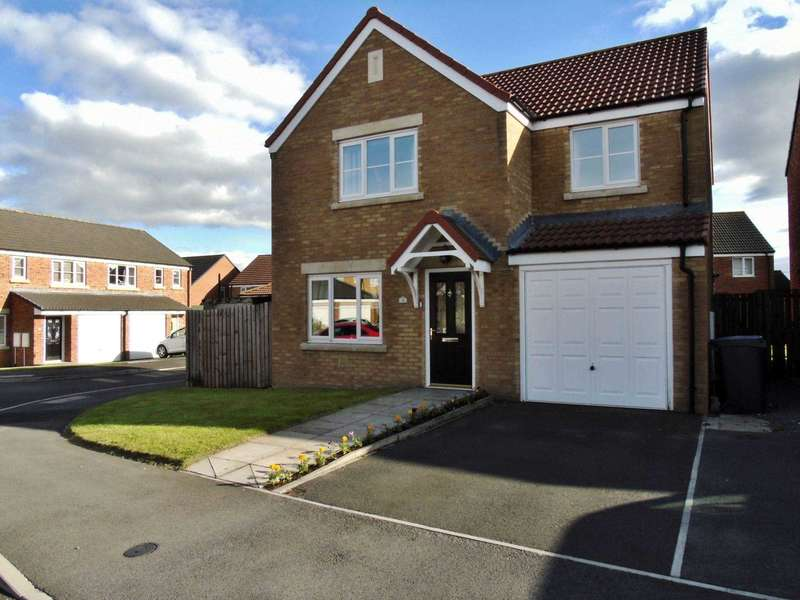 4 Bedrooms Detached House for sale in Deerness Heights, Stanley Crook