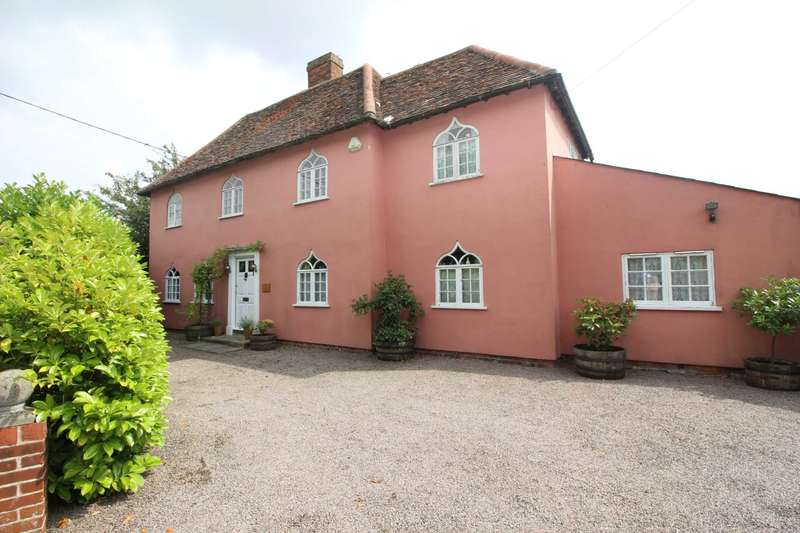 4 Bedrooms Detached House for sale in Marks Hall Road, Coggeshall