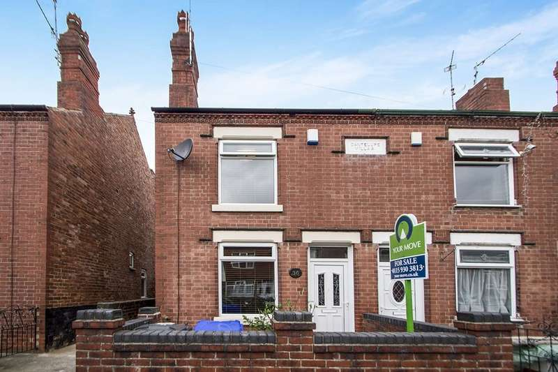 2 Bedrooms Semi Detached House for sale in Milton Road, Ilkeston, DE7