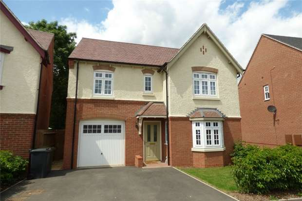 4 Bedrooms Detached House for sale in Adderley Avenue, Church Fields, Nuneaton, Warwickshire