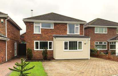 4 Bedrooms Detached House for sale in Ashwood Drive, Stokesley, Middlesbrough