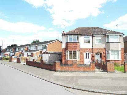 3 Bedrooms Semi Detached House for sale in Mary Herbert Street, Coventry, West Midlands