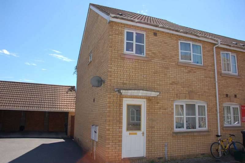 3 Bedrooms End Of Terrace House for sale in Cheddon Mews, Taunton