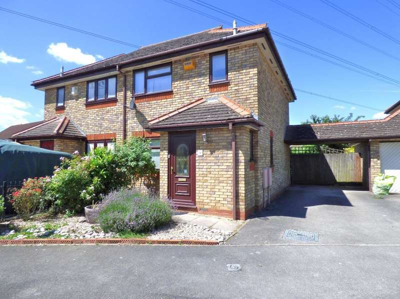 3 Bedrooms Semi Detached House for sale in Pembroke Close, Marston Moretaine, Beds, MK43 0JX