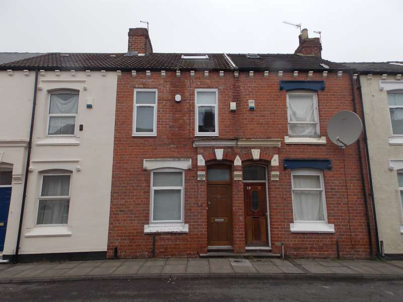 5 Bedrooms Terraced House for sale in Palm Street, Middlesbrough, TS1 3EE
