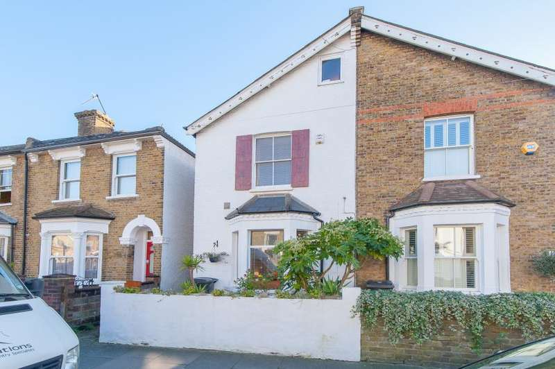 4 Bedrooms Semi Detached House for sale in Canbury Park Road, Kingston upon Thames