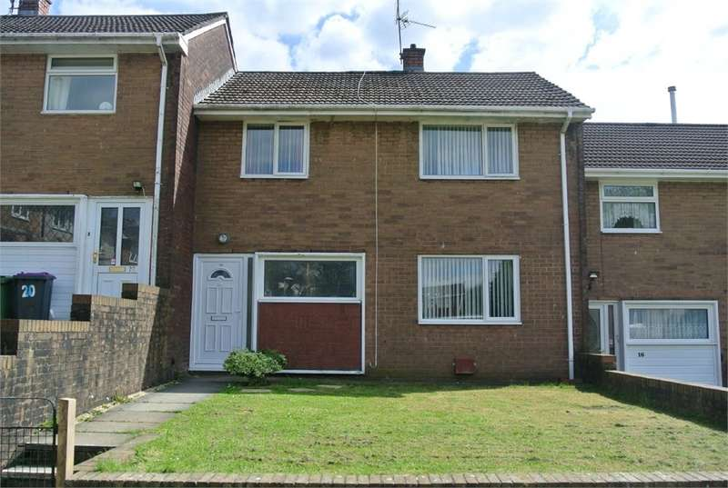 3 Bedrooms Terraced House for sale in Hazel Walk, Croesyceiliog, Cwmbran, NP44