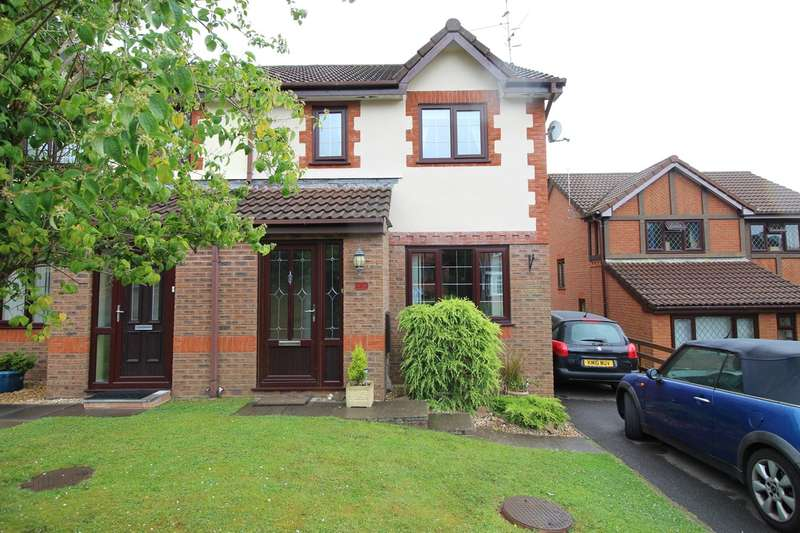 3 Bedrooms Semi Detached House for sale in Laburnum Drive, Henllys, Cwmbran, NP44