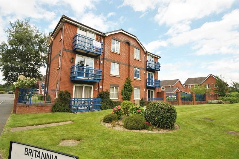 1 Bedroom Flat for sale in Britannia Drive, Ashton-on-ribble, Preston, Lancashire. PR2 2YD