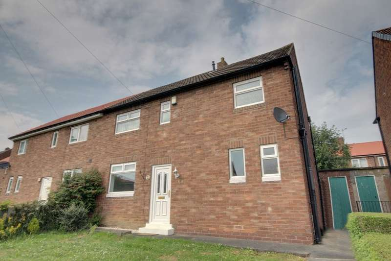 3 Bedrooms Semi Detached House for sale in Haughton Crescent, West Denton, Newcastle Upon Tyne, NE5