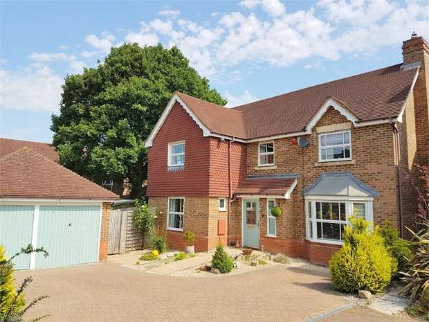 4 Bedrooms Detached House for sale in Lady Forsdyke Way, Epsom
