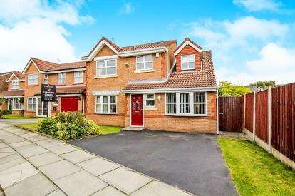 4 Bedrooms Detached House for sale in Parklands Way, Crosby, Liverpool, Merseyside, L22