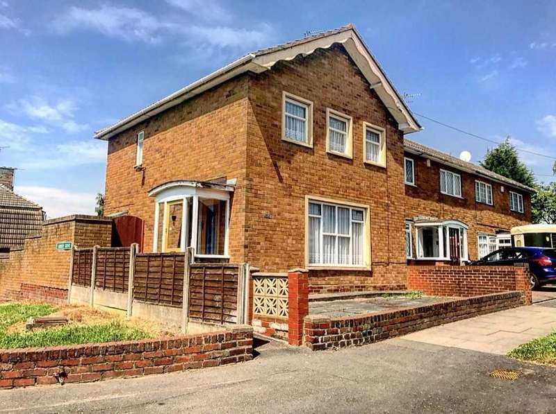 3 Bedrooms End Of Terrace House for sale in LADBURY ROAD, WALSALL, WS5 4EY