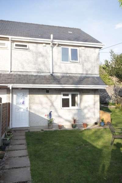 3 Bedrooms Semi Detached House for sale in Clwt Y Bont, Caernarfon, Gwynedd, LL55