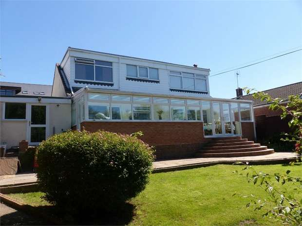 5 Bedrooms Detached Bungalow for sale in Waun Bant Road, Kenfig Hill, Bridgend, Mid Glamorgan