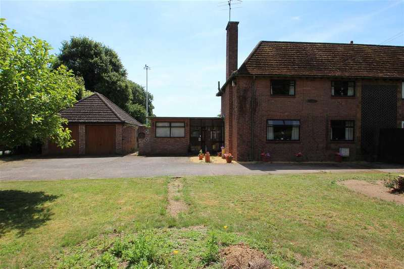 3 Bedrooms Semi Detached House for sale in The Dog House, Bucklesham Road, Ipswich