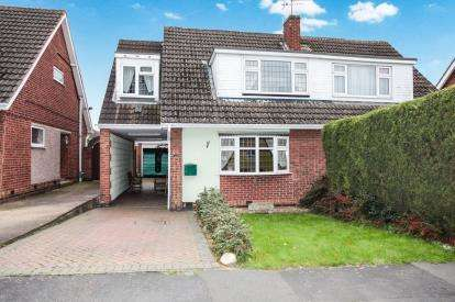 4 Bedrooms Semi Detached House for sale in Ravensthorpe Road, Wigston, Leicester