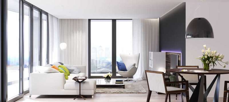 2 Bedrooms Apartment Flat for sale in Royal Wharf, London