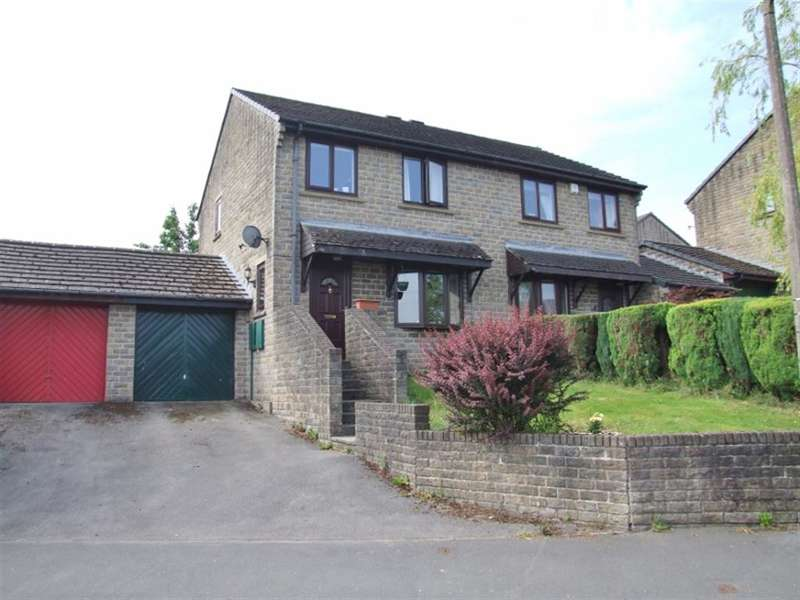 3 Bedrooms Semi Detached House for sale in Goldfields Way, Greetland, Halifax, HX4 8LA