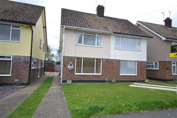 2 Bedrooms Semi Detached House for sale in Edward Gardens, Wickford