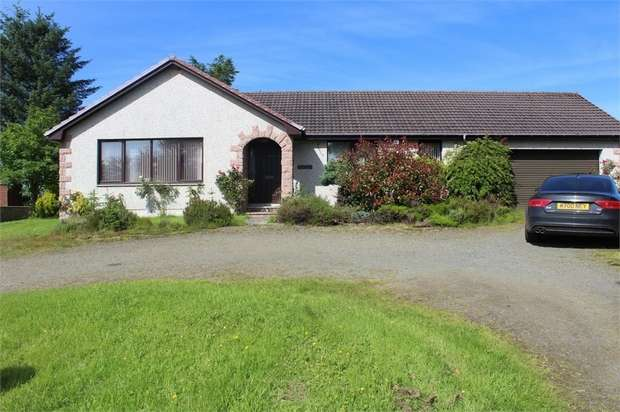 4 Bedrooms Detached Bungalow for sale in Crudie, Crudie, Turriff, Aberdeenshire