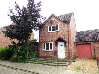 3 Bedrooms Detached House for sale in Lynmouth Crescent, Furzton, Milton Keynes