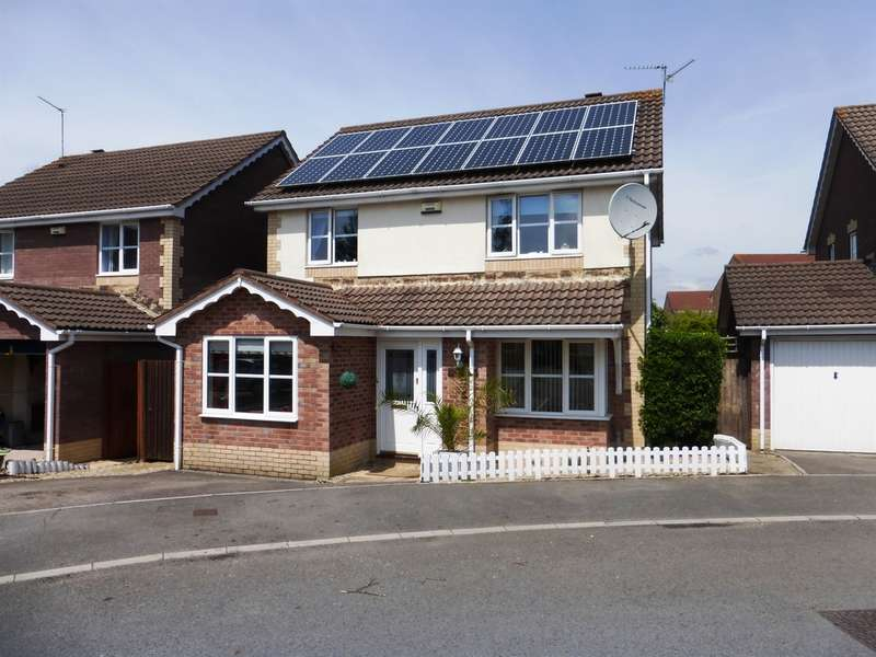 4 Bedrooms Detached House for sale in William Belcher Drive, St. Mellons, Cardiff