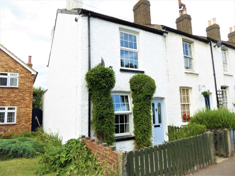 2 Bedrooms End Of Terrace House for sale in New Road, South Darenth, Kent, DA4 9AT