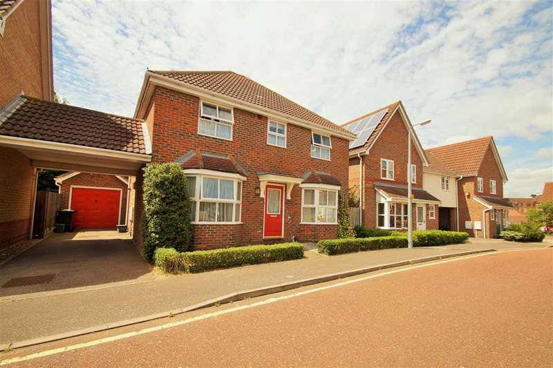 4 Bedrooms Detached House for sale in Braithwaite Drive, Turner Rise, Colchester