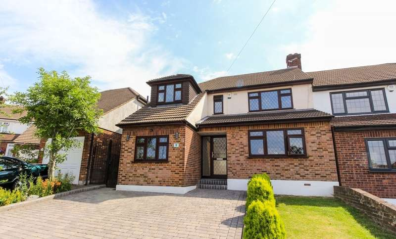 3 Bedrooms Semi Detached House for sale in Fairview Close, Chigwell