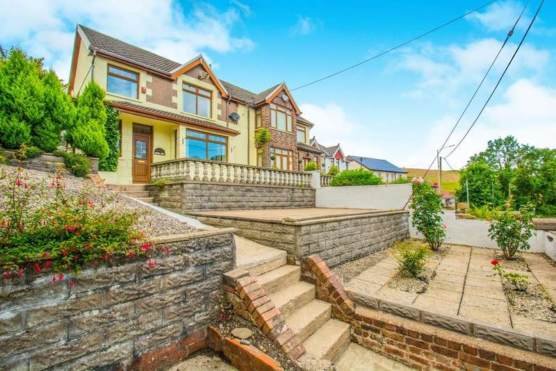 3 Bedrooms Semi Detached House for sale in Gilfach Road, Tonyrefail, Porth