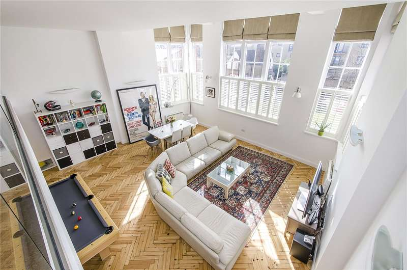 2 Bedrooms Flat for sale in Reed Place, London, SW4