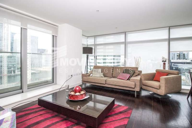 2 Bedrooms Apartment Flat for sale in Pan Peninsula Square, South Quay, E14