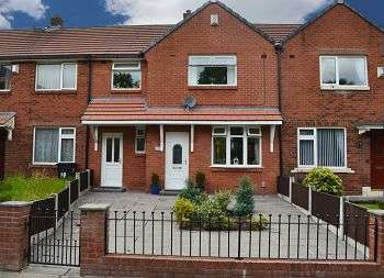 3 Bedrooms Terraced House for sale in Ruskin Avenue, Wigan, WN3 5LN