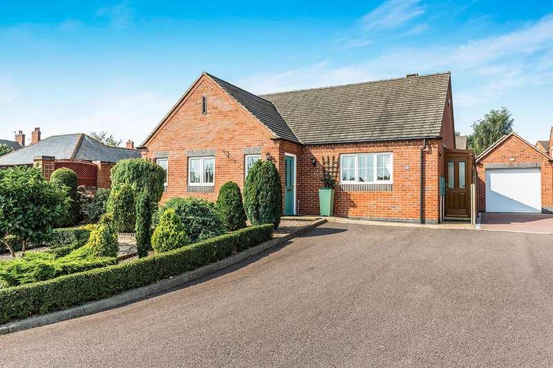 2 Bedrooms Detached Bungalow for sale in Sunnyside, Newhall, Swadlincote, DE11